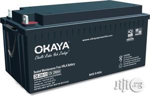 Okaya Inverter Battery 200AH | Solar Energy for sale in Rivers State, Port-Harcourt