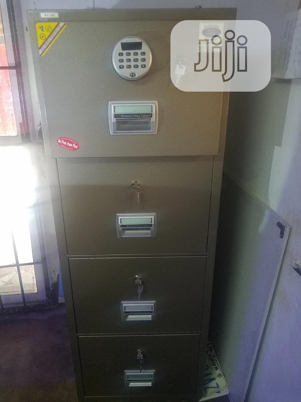 Archive: Digital Fire Proof Safe 4 Door.