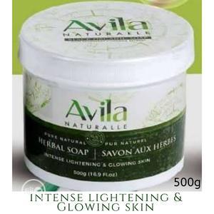 Avila Intense Lightening Organic/Black Soap 450g | Bath & Body for sale in Lagos State, Ikotun/Igando