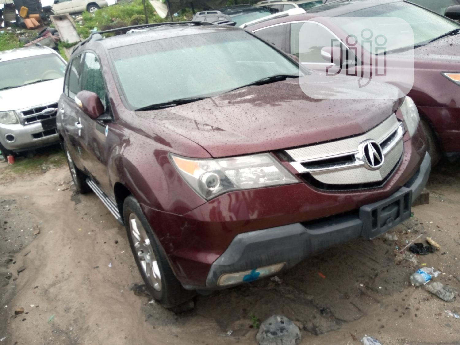 Archive: Acura MDX 2008 SUV 4dr AWD (3.7 6cyl 5A)