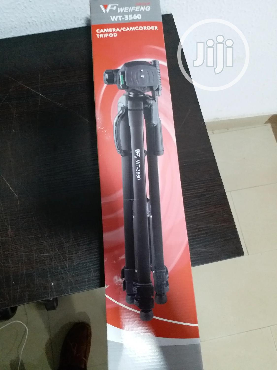 Weifeng WT-3560 Tripod Stand | Accessories & Supplies for Electronics for sale in Ikeja, Lagos State, Nigeria