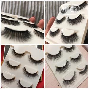 Human Hair Lashes + Free Lash Glue | Makeup for sale in Abuja (FCT) State, Garki 2