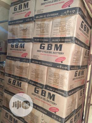 12v 200ah Gbm Battery Is Available | Solar Energy for sale in Lagos State, Ojo
