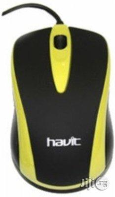 Havit USB Wired Mouse - HV-MS675 - Black & Yellow | Computer Accessories  for sale in Lagos State