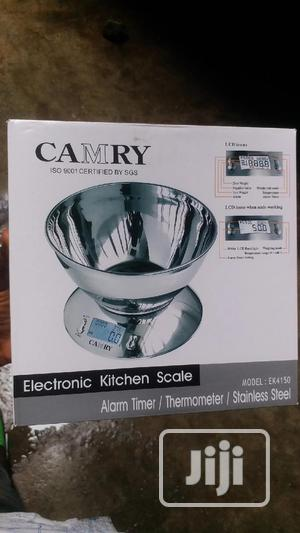 Camry Digital Kitchen Scale 5kg Stainless Steel | Restaurant & Catering Equipment for sale in Lagos State, Orile