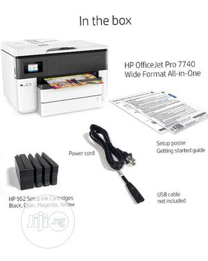 Officejet 7740 Hp Wireless All In One Printer   Printers & Scanners for sale in Lagos State, Ikeja
