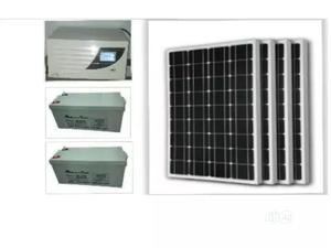 2kva Kevin Inverter +2 Of 200mah + 4 Of 130w Panels | Solar Energy for sale in Lagos State, Ikeja