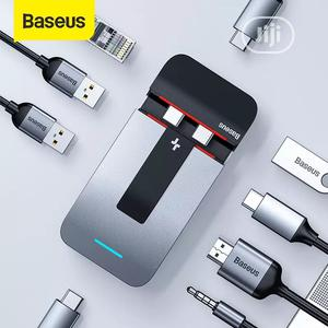 Baseus 9 Port USB C HUB To HDMI Adapter 96W | Computer Accessories  for sale in Lagos State, Ikeja