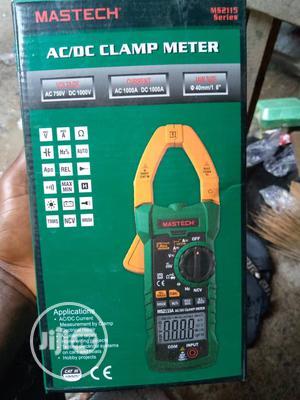 Mastech Digital Clamp Meter AC DC Voltage750v Multimeter | Measuring & Layout Tools for sale in Lagos State, Lagos Island (Eko)