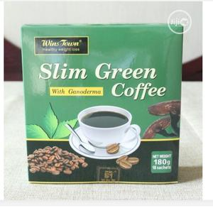 Slimmex Flat Tummy Green Coffee Tea for Weight Loss | Vitamins & Supplements for sale in Lagos State, Mushin