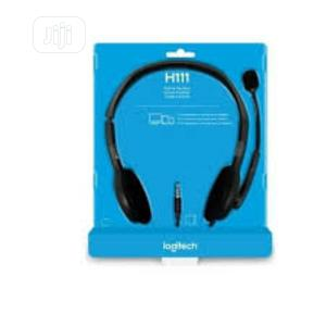 Logitech H110 Headset | Headphones for sale in Rivers State, Port-Harcourt