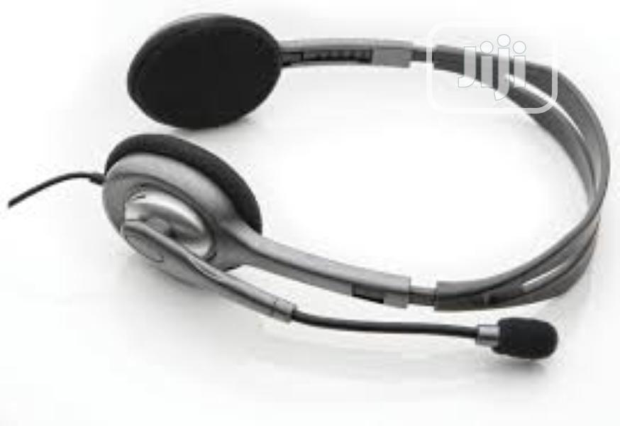 Logitech H110 Headset   Headphones for sale in Port-Harcourt, Rivers State, Nigeria