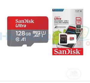 Sandisk 128GB Memory Card   Accessories for Mobile Phones & Tablets for sale in Lagos State, Ikeja