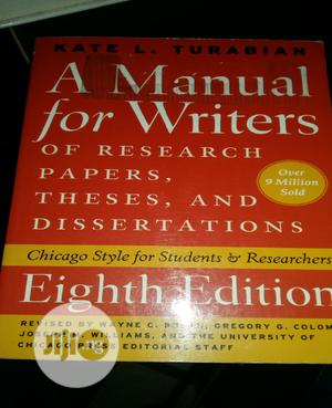 A Manual For Writer's By Kate Turabian | Books & Games for sale in Lagos State, Surulere