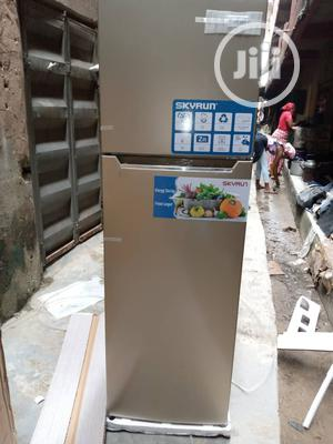 Brand New SKYRUN Double Door Fridge Silver Color External | Kitchen Appliances for sale in Lagos State, Ojo