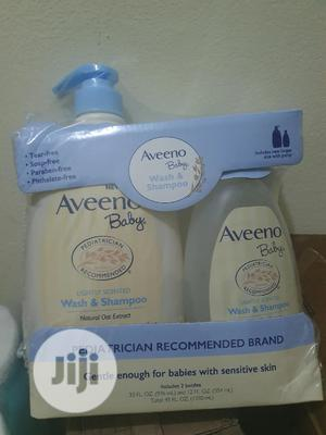 Aveeno Wash and Shampoo for Baby | Baby & Child Care for sale in Lagos State, Oshodi