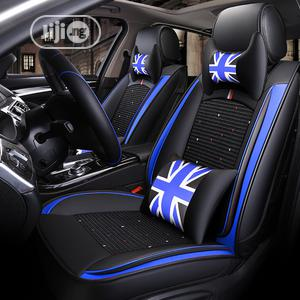 Blue And Black Leather Car Interior Seat Covers   Vehicle Parts & Accessories for sale in Lagos State, Ikoyi