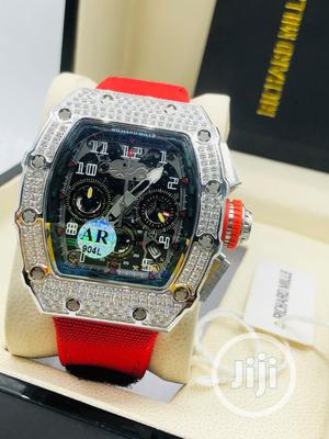 Original Richard Mille Rubber Strap Watch | Watches for sale in Lagos State, Magodo