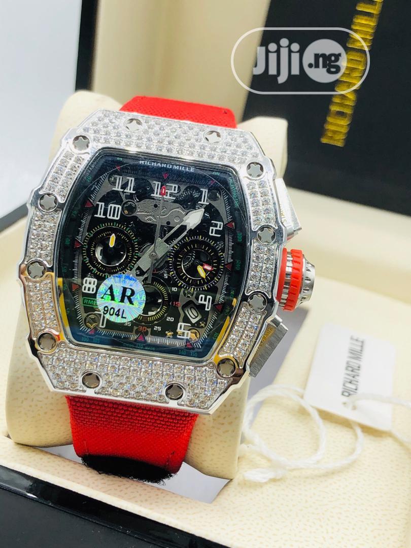 Original Richard Mille Rubber Strap Watch