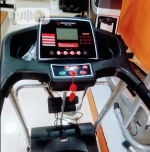2.5hp Treadmill With Massager & Mp3   Sports Equipment for sale in Lagos State, Victoria Island
