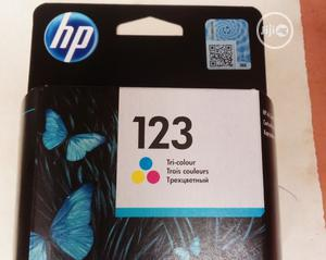 HP 123 Ink Cartridges Color | Accessories & Supplies for Electronics for sale in Lagos State, Ikeja