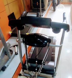 2.5hp Treadmill American Premium With Massager & Mp3 Etc   Sports Equipment for sale in Lagos State, Ikoyi