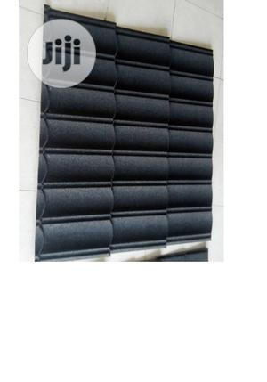 Black Bond Stone Coated Roofing Sheet For 2700 Stone Coated | Building Materials for sale in Lagos State, Ajah