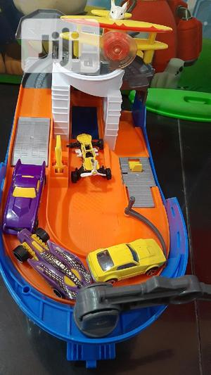 Toy Boat With Car Track ( Children's Toy)   Toys for sale in Lagos State, Ikeja