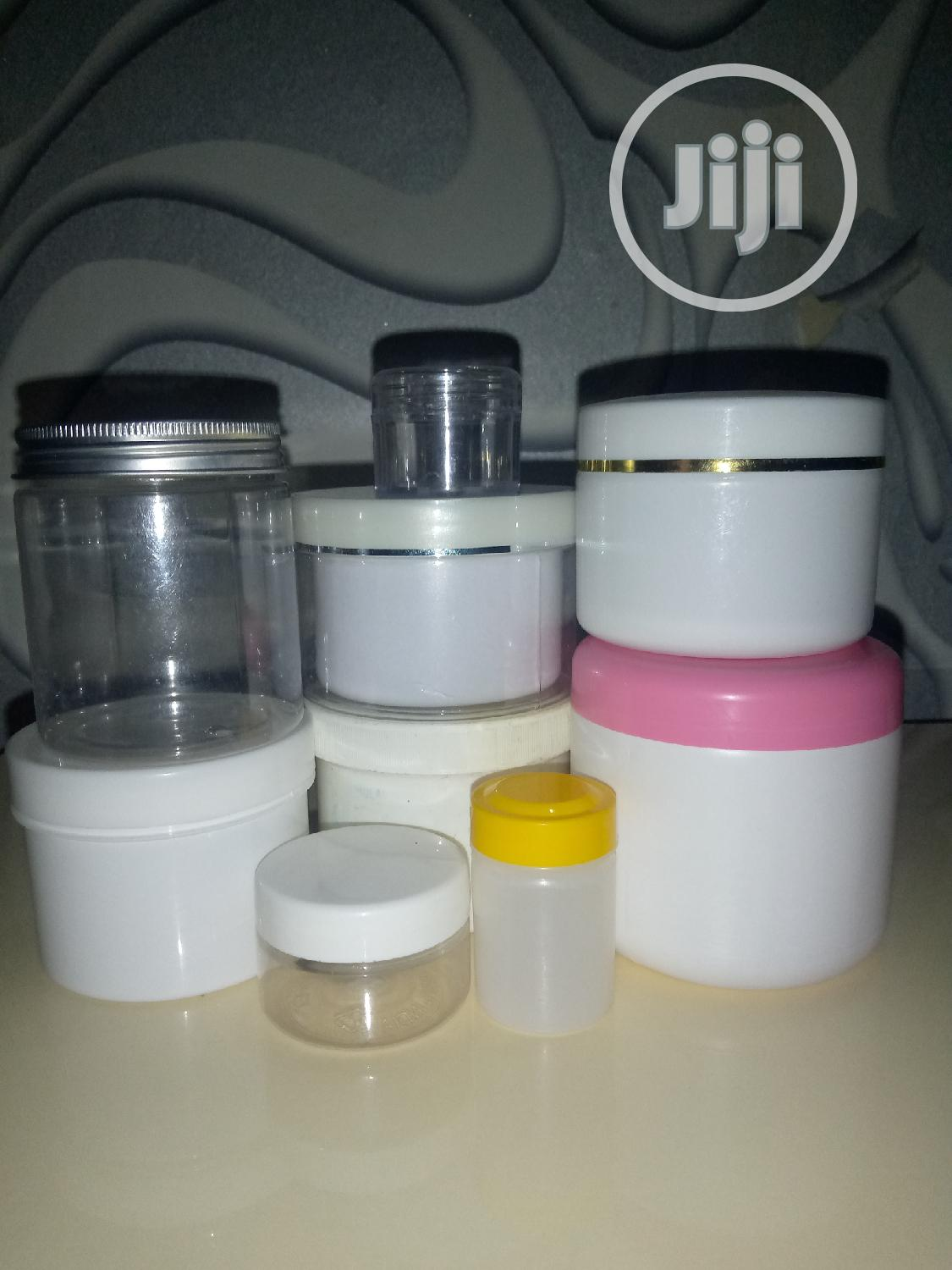 Archive: Cream & Soap Containers