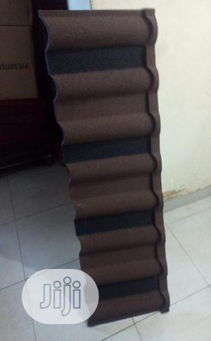 Brown and Black Docherich Outstanding Stone Coated Roofing   Building Materials for sale in Lagos State, Ajah