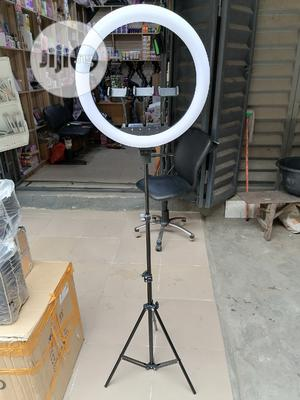 18inches Soft Touch 3 Camera Holder Ringlight With USB   Accessories & Supplies for Electronics for sale in Lagos State, Amuwo-Odofin