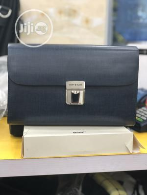 Mont Blanc Executive Leather Clutch Bag   Bags for sale in Lagos State, Lagos Island (Eko)