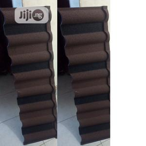 Brown and Black Docherich Newzealand Stone Coated Roofing   Building Materials for sale in Lagos State, Ajah