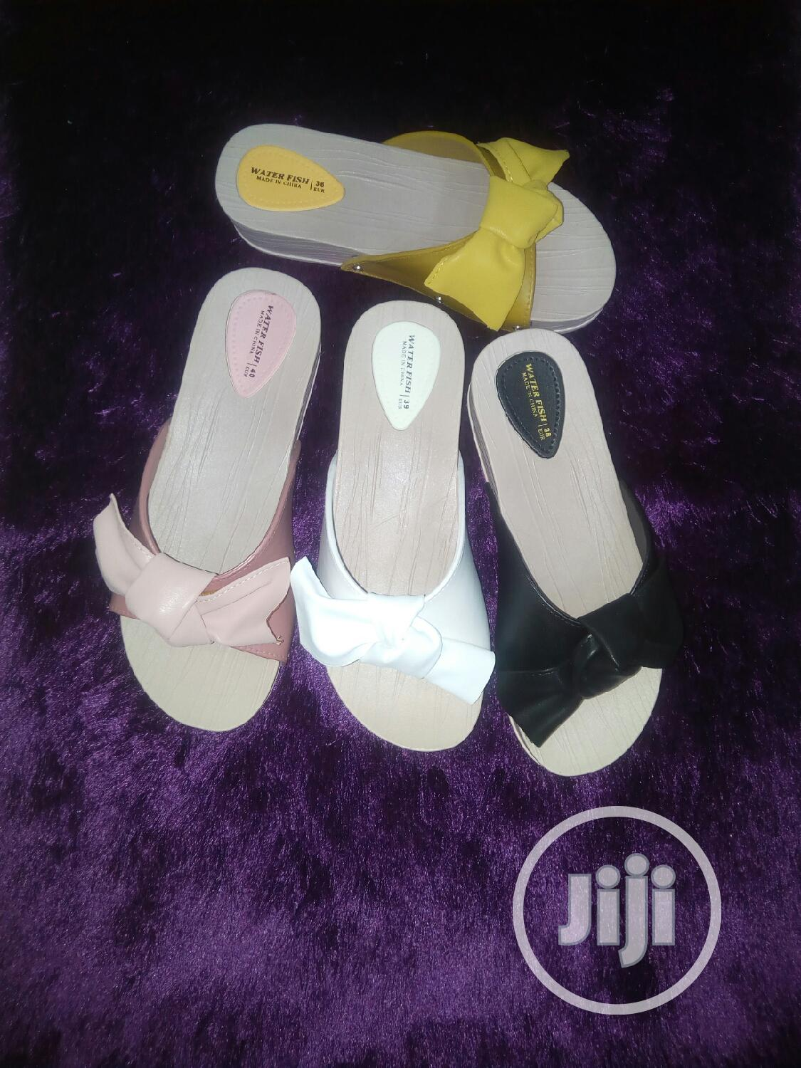 Archive: Jelly Jelly Rubber Wedge Slippers Available