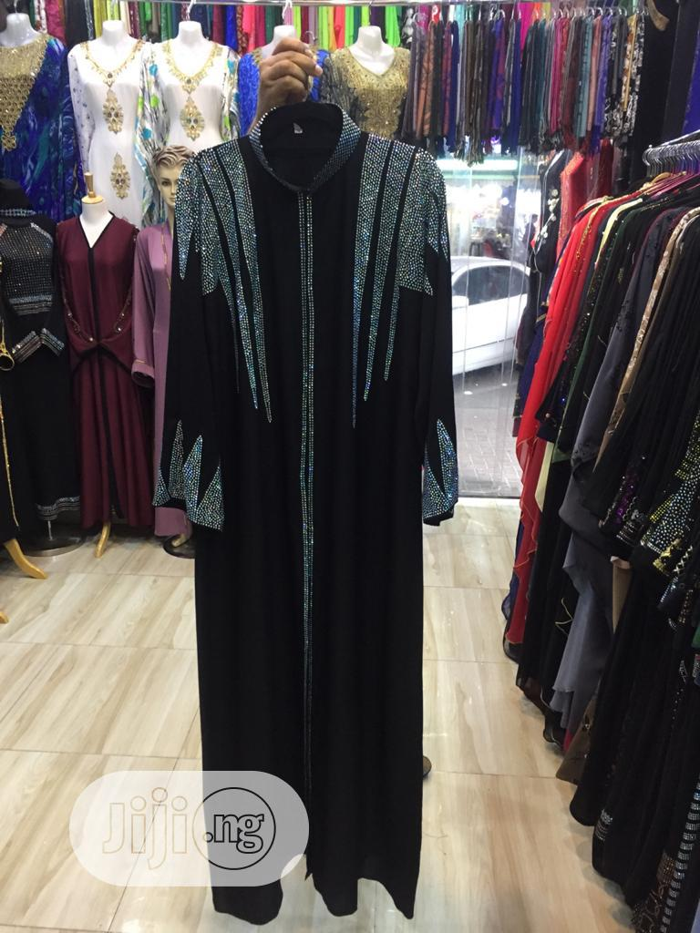 Archive: Elegant Long Net Dress for Ladies