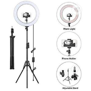 Selfie Ring Light With Tripod Stand & Cell Phone Holder | Accessories & Supplies for Electronics for sale in Lagos State, Ikeja