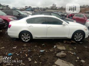 Lexus GS 2009 White   Cars for sale in Lagos State, Apapa