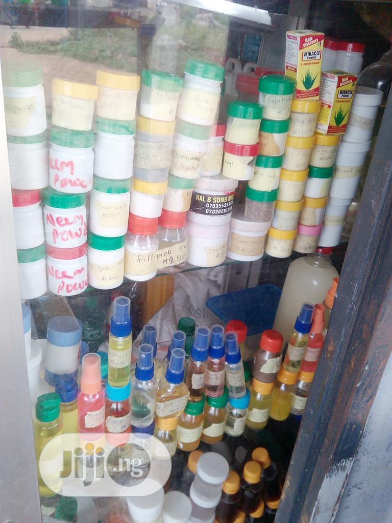 Organic Cream And Soap Materials