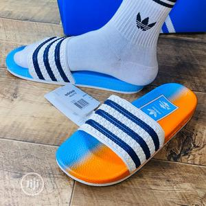 Italian Adidas Arizona Slide Palm   Shoes for sale in Lagos State, Surulere