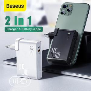 Baseus 2in1 45W Quick Charger and Power Bank 10000mah | Accessories for Mobile Phones & Tablets for sale in Lagos State, Ikeja