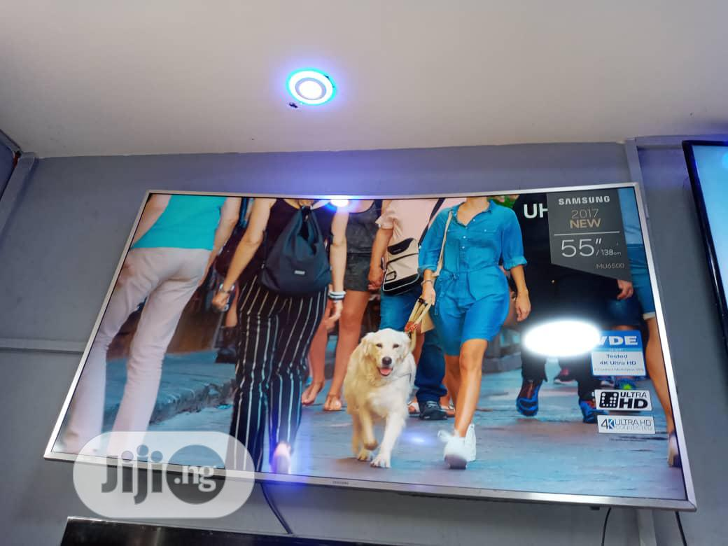 Samsung Smart 55inch UHD 4k HDR TV Curve Screen MU7000