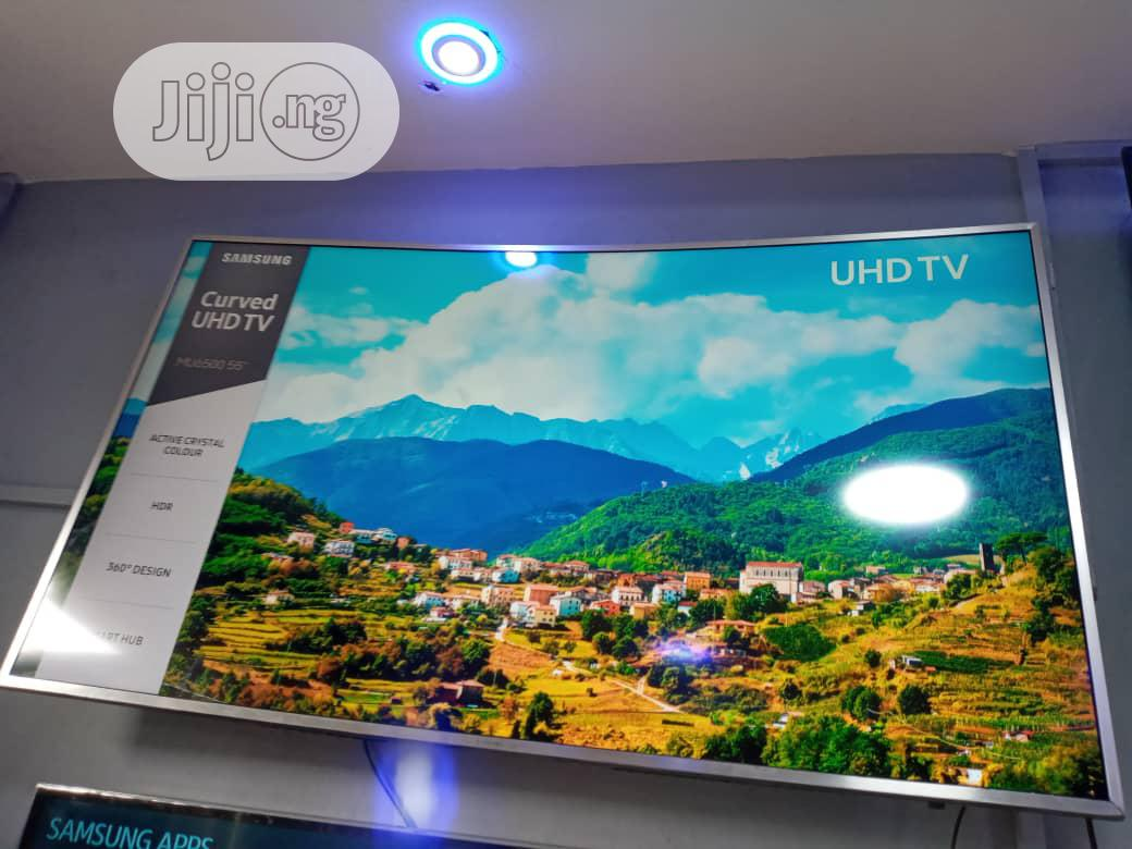 Samsung Smart 55inch UHD 4k HDR TV Curve Screen MU7000 | TV & DVD Equipment for sale in Ojota, Lagos State, Nigeria