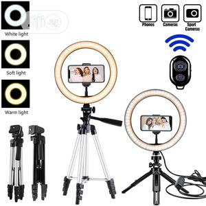 Tripod Stand Ring Light Profissional Photo Camera Phone   Accessories & Supplies for Electronics for sale in Lagos State, Lekki