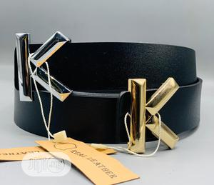Calvin Klein (CK) Leather Belt for Men's   Clothing Accessories for sale in Lagos State, Lagos Island (Eko)