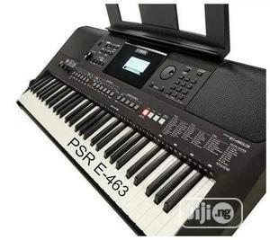 Original Yahama Keyboard PSR E463   Musical Instruments & Gear for sale in Lagos State, Ikeja