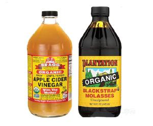 Organic Blackstrap Molasses and Apple Cider Vinegar (COMBO)   Vitamins & Supplements for sale in Lagos State, Gbagada