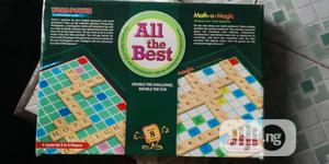 2 In 1 Scrabble And Math-a-magic   Books & Games for sale in Lagos State, Ikeja