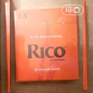 Rico 10 Unfiled Strength Alto Sax Classic High-quality Reeds | Musical Instruments & Gear for sale in Lagos State, Gbagada