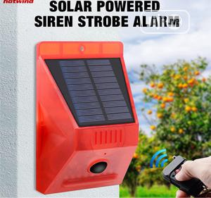 Solar Powered Motion Sensor Alarm With Remote Control | Solar Energy for sale in Lagos State, Ikeja