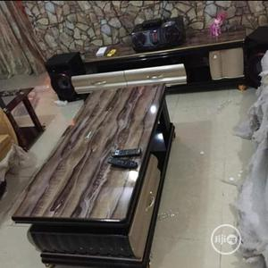 Marble Glass Centre Table And Tv Stand | Furniture for sale in Edo State, Benin City
